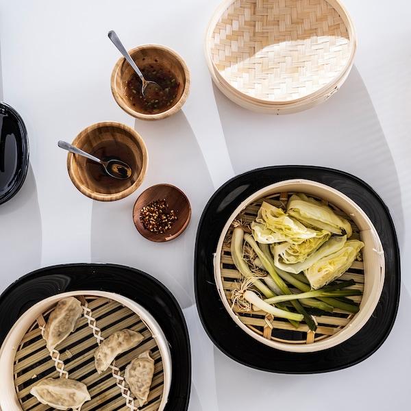 KLOCKREN Steamer, bamboo, 5.0 l
