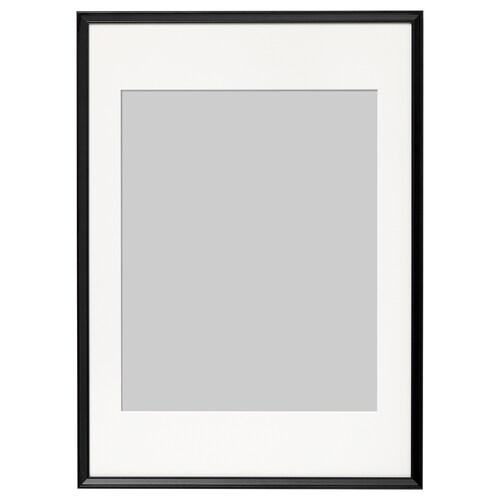 KNOPPÄNG frame black 50 cm 70 cm 40 cm 50 cm 39 cm 49 cm 52 cm 72 cm