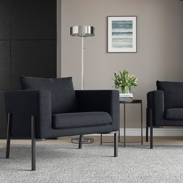 KOARP Armchair, Saxemara black-blue/black