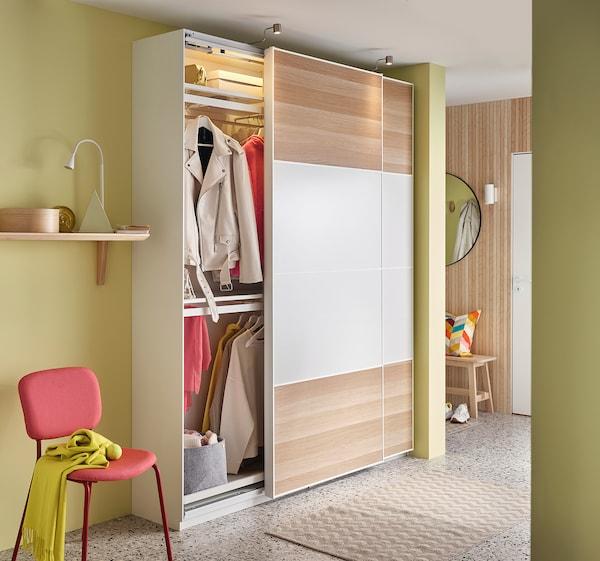 KOMPLEMENT Clothes rail, white, 50x35 cm