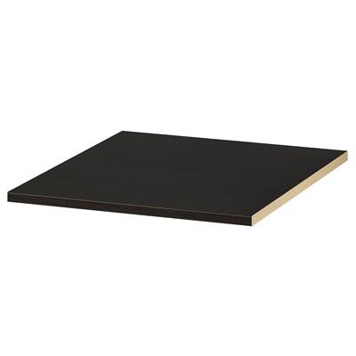 KOMPLEMENT رف, أسود-بني, 50x58 سم