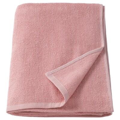 KORNAN Bath sheet, pink, 100x150 cm