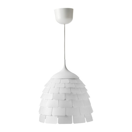 KVARTÄR Pendant lamp IKEA Diffused light that provides good general light in the room.