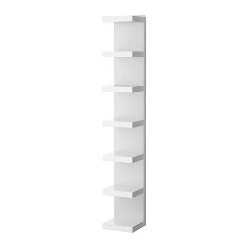 Glass Curio Cabinets At Ikea ~ LACK Wall shelf unit IKEA Narrow shelves help you to use small wall