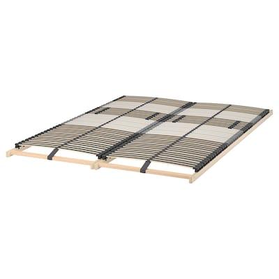 LEIRSUND Slatted bed base, 140x200 cm