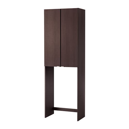 Lill ngen cabinet for washing machine black brown ikea - Meuble pour lave vaisselle ikea ...