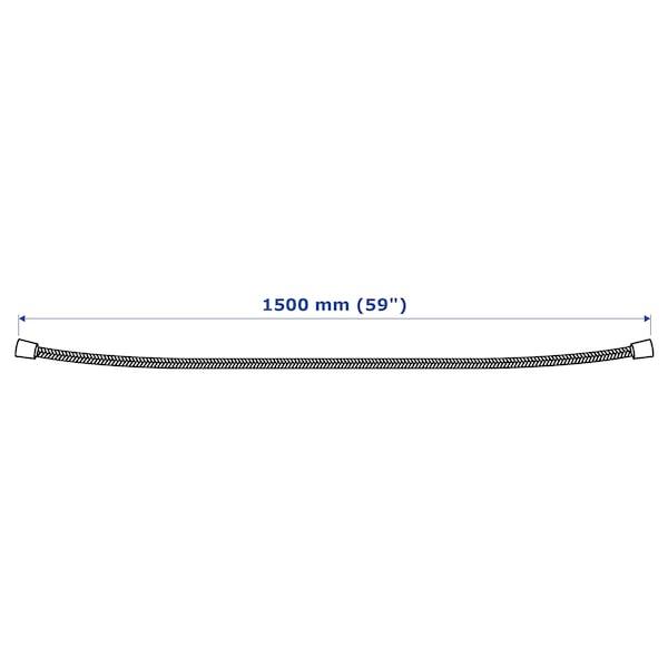 LILLREVET shower hose white 150 cm