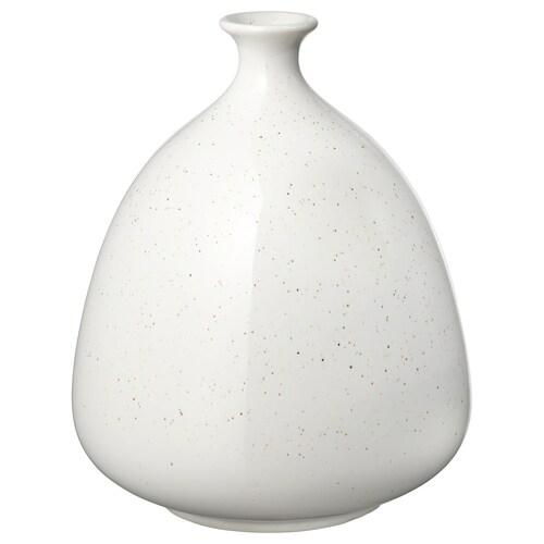 LIVSVERK vase white 23 cm