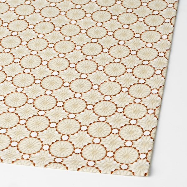 LJUVARE Table-runner, beige, 40x140 cm