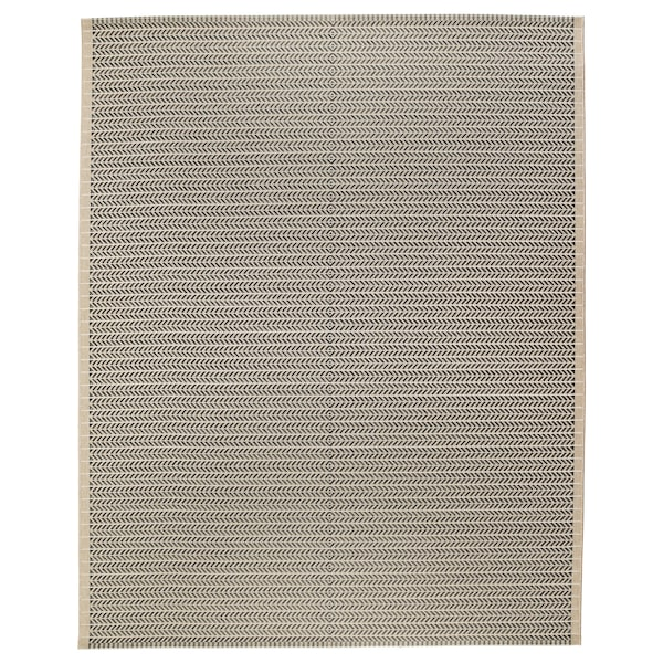 LOBBÄK rug flatwoven, in/outdoor beige 250 cm 200 cm 5 mm 5.00 m² 1600 g/m²