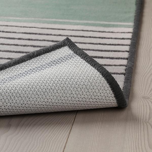 LUSTRUP Rug, low pile, grey/multicolour, 120x180 cm