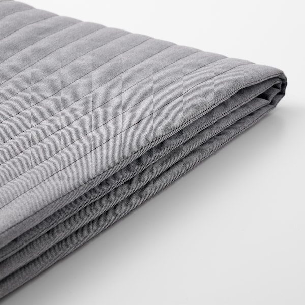 LYCKSELE Cover for 2-seat sofa-bed, Knisa light grey