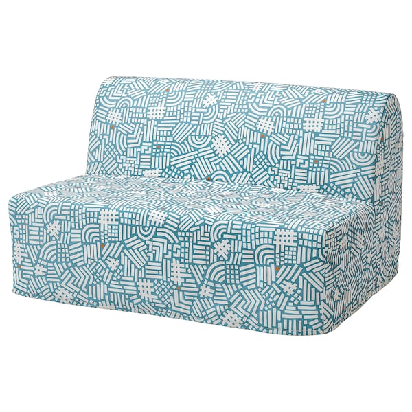 LYCKSELE Cover for 2-seat sofa-bed, Tutstad multicolour