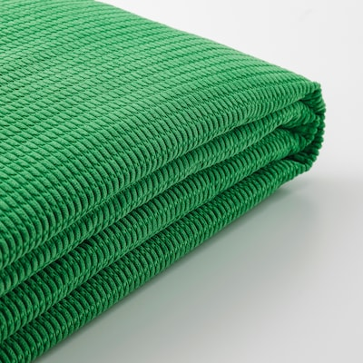 LYCKSELE Cover for 2-seat sofa-bed, Vansbro bright green