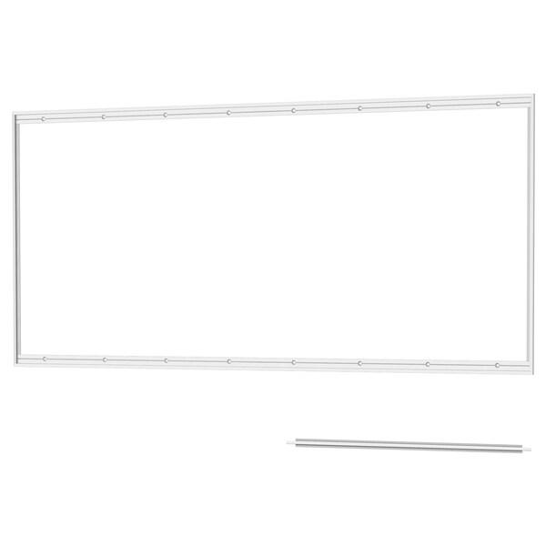 LYSEKIL Rail for wall panel, aluminium, 120 cm