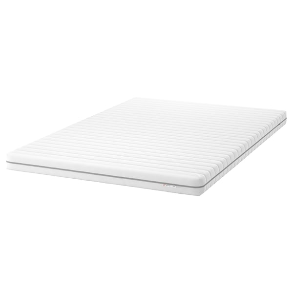 MALFORS Foam mattress, firm/white, 140x200 cm