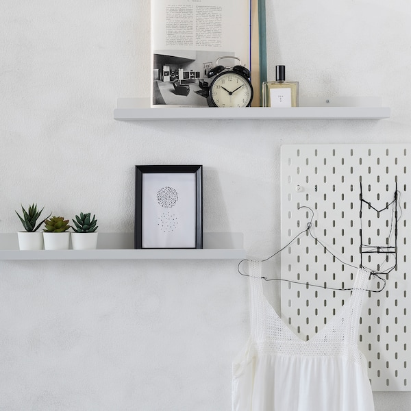 MALMBÄCK display shelf white 60 cm 12 cm 5.00 kg
