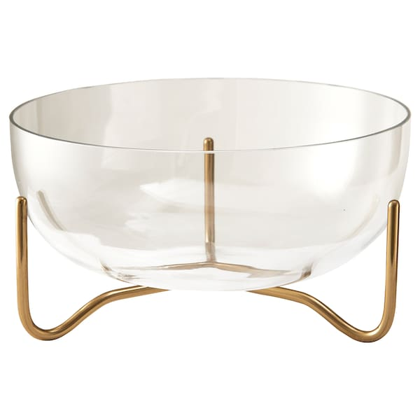 MASKERING bowl clear glass 11 cm 20 cm