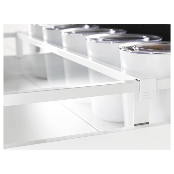 MAXIMERA Divider for medium drawer, white/transparent, 80 cm