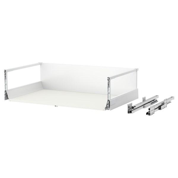MAXIMERA درج، عالي, أبيض, 80x45 سم