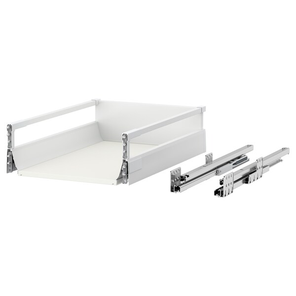 MAXIMERA Drawer, medium, white, 40x60 cm