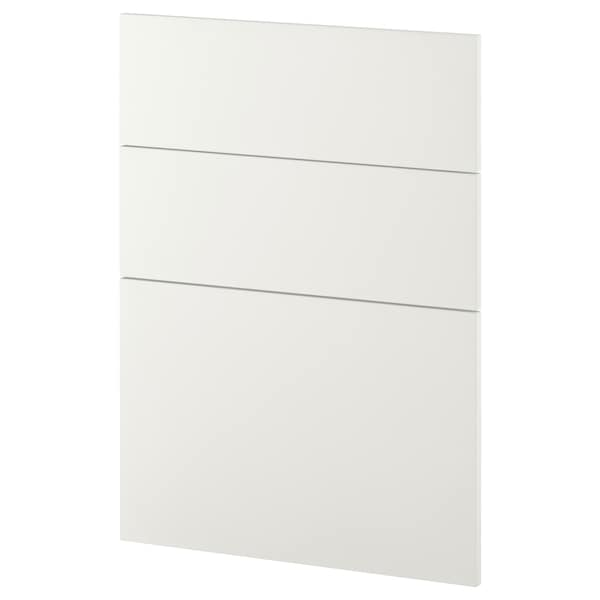 METOD 3 fronts for dishwasher Häggeby white 60.0 cm 88.0 cm 80.0 cm 1.6 cm