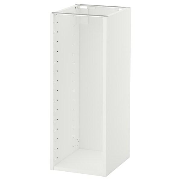 METOD اطار خزانة قاعدية, أبيض, 30x37x80 سم