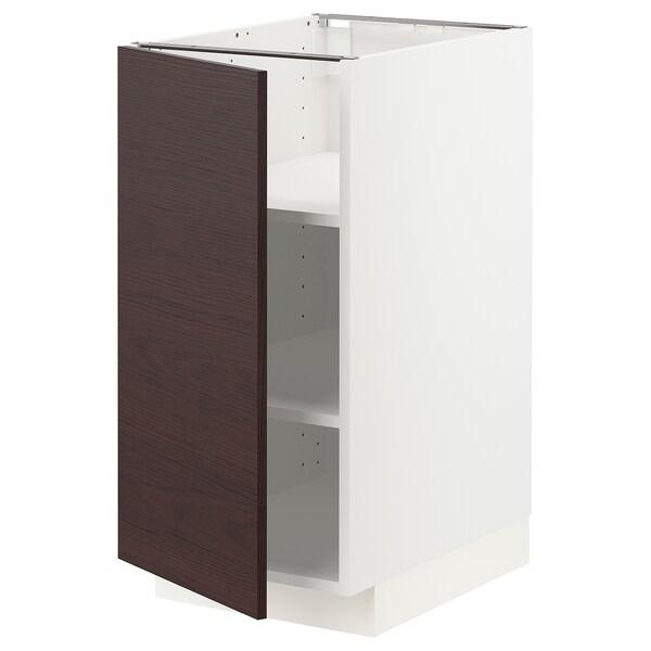 METOD خزانة قاعدية مع رفوف