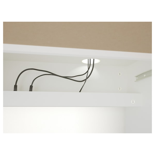 MICKE Desk, white, 105x50 cm