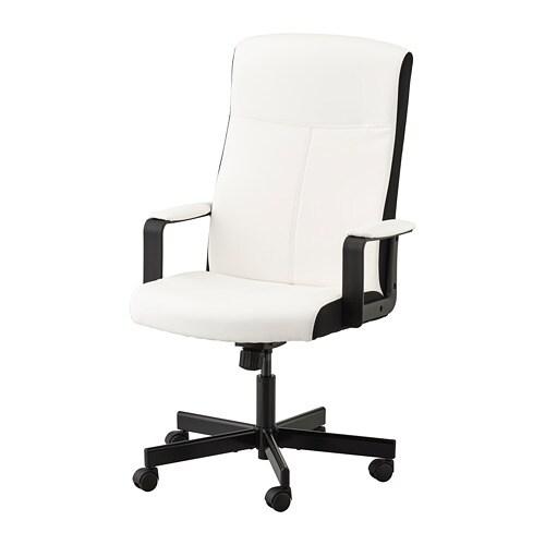 Millberget Swivel Chair Kimstad White Ikea