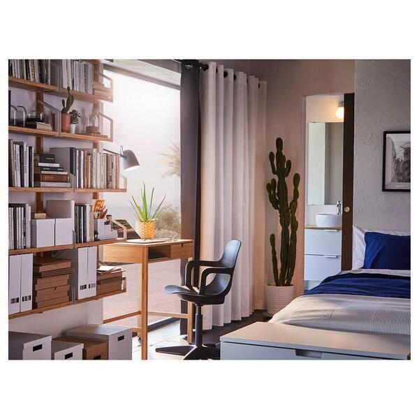 NORDKISA dressing table bamboo 76 cm 47 cm 79 cm