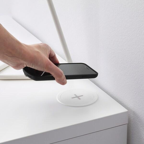 NORDMÄRKE wireless charger white/cork 2 cm 8.5 cm 1.90 m