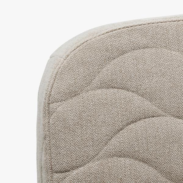 NYHAMN كنبة-سرير 3 مقاعد, مع مرتبة ذات نوابض جيبية/Hyllie بيج