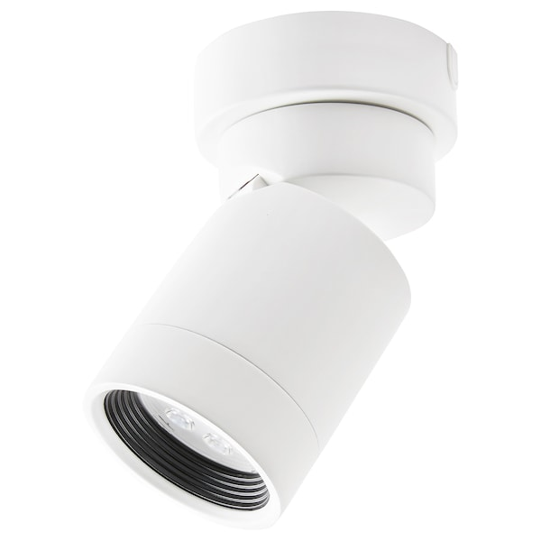 NYMÅNE Ceiling spotlight with 1 spot, white