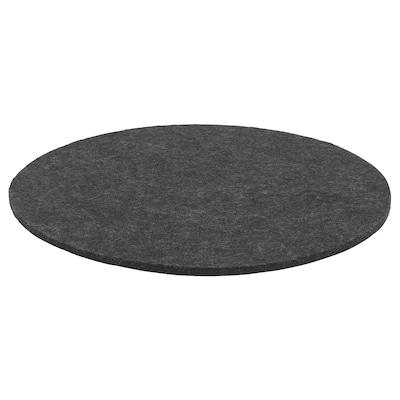 ODDBJÖRG Chair pad, grey, 35 cm