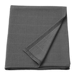 ODDHILD throw, dark grey
