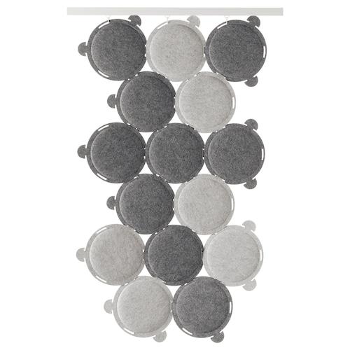ODDLAUG sound absorbing panel grey 100 cm 50 cm 17 cm 1.5 cm 0.60 kg 15 pack