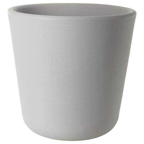 ÖSTLIG plant pot in/outdoor grey 32 cm 32 cm 30 cm