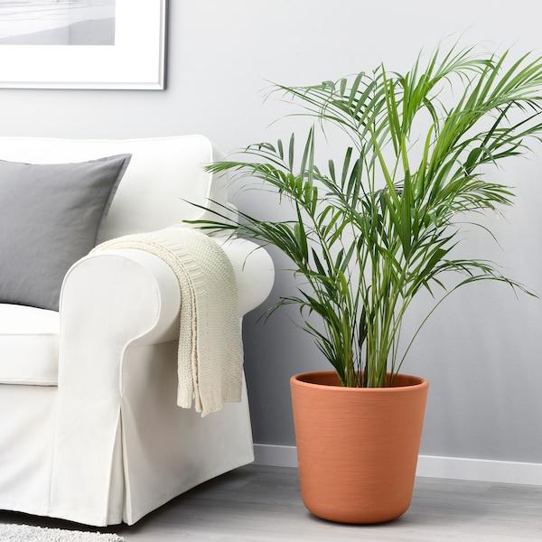 ÖSTLIG plant pot in/outdoor red-brown 32 cm 32 cm 30 cm