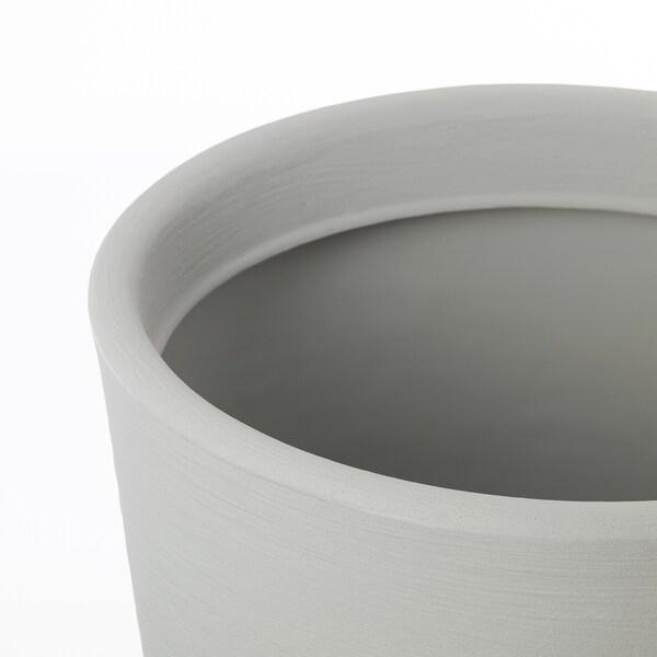 ÖSTLIG plant pot in/outdoor grey 50 cm 34 cm 32 cm