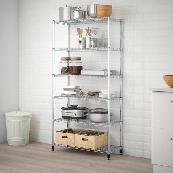 OLAUS 1 shelf section 92 cm 36 cm 181 cm