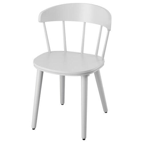 OMTÄNKSAM chair light grey 53 cm 50 cm 79 cm 45 cm 43 cm 47 cm