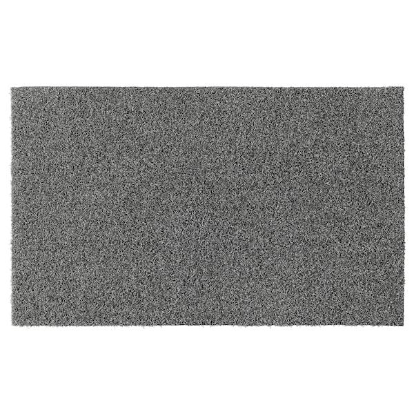 OPLEV door mat in/outdoor grey 80 cm 50 cm 11 mm 0.40 m² 2000 g/m² 580 g/m² 8 mm