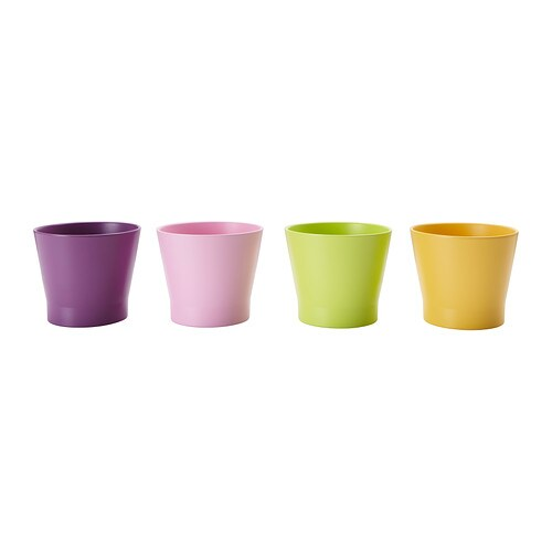 PAPAJA Plant pot IKEA Lacquered interior; makes the plant pot waterproof.