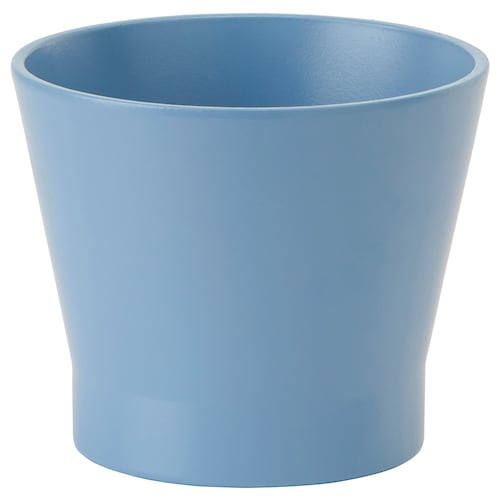 PAPAJA plant pot blue 10 cm 11 cm 9 cm 10 cm