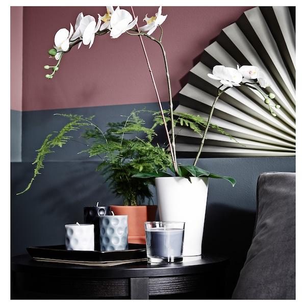 PAPAJA Plant pot, white, 12x19 cm