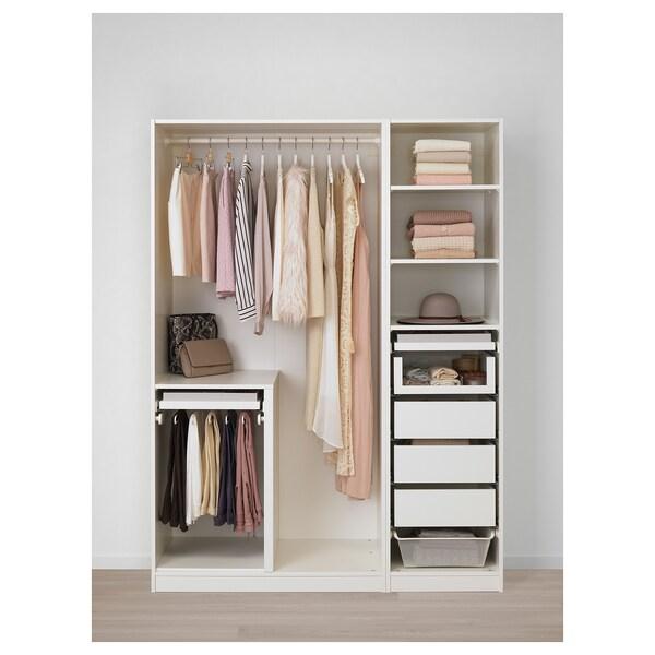PAX wardrobe white/Tyssedal white 150 cm 60 cm 201.2 cm