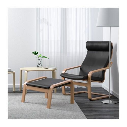POÄNG Armchair - Smidig black - IKEA
