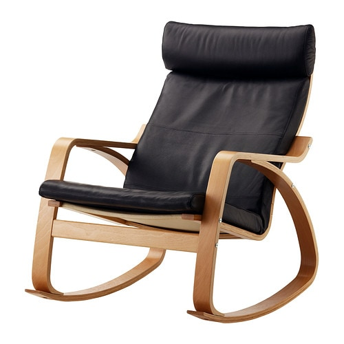 Ikea Trofast Extendable Bed ~ POÄNG Rocking chair IKEA The frame is made of layer glued bent beech