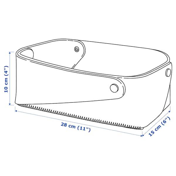 PUDDA Basket, 15x28x10 cm